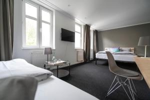 TV/Unterhaltungsangebot in der Unterkunft Hotel BIG MAMA Leipzig
