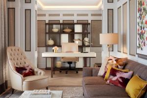 Гостиная зона в The Biltmore Mayfair, LXR Hotels & Resorts