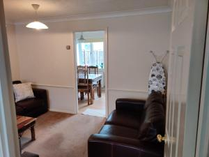 A seating area at Ashmere Close- Calcot