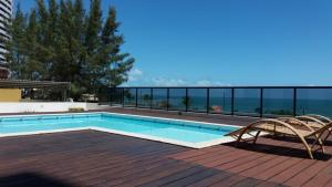 The swimming pool at or close to Natal Prime-Porto Imperial