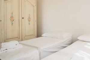 Letto o letti in una camera di Agricampeggio Maccari