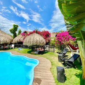 The swimming pool at or near Bikini Hostel & Pool