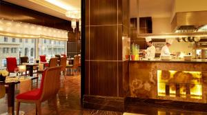 A restaurant or other place to eat at InterContinental Moscow Tverskaya