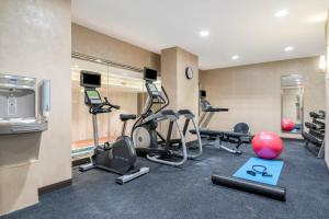 The fitness centre and/or fitness facilities at Holiday Inn Brooklyn Downtown