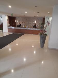 The lobby or reception area at Hotel Saffron