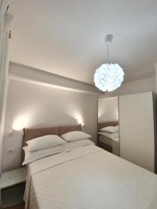 Krevet ili kreveti u jedinici u objektu Apartments Karla