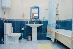 Ванная комната в Гостиница Стиль
