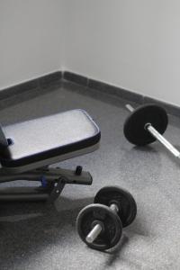 Gimnasio o instalaciones de fitness de Apartamento Vacacional Aspe
