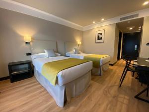 Krevet ili kreveti u jedinici u objektu Hotel Parque Real