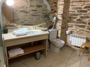 A bathroom at Posada Real La Carteria