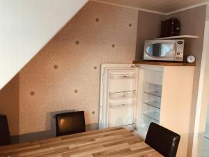 Kuchyň nebo kuchyňský kout v ubytování Ferienwohnung Reichelt