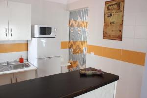 Una cocina o zona de cocina en Apartamentos Nundinae