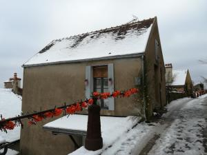 The Good Studio Vezelay during the winter