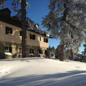 Jubilee Hotel Troodos during the winter