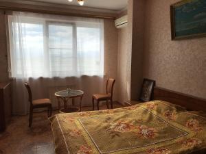Гостиная зона в Апартаменты Аделина