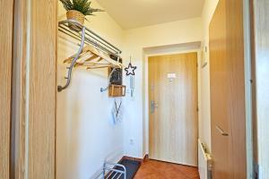 A bathroom at Apartmán Klínovec 365