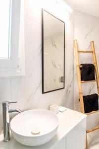 Ein Badezimmer in der Unterkunft Onar Hotel and Suites