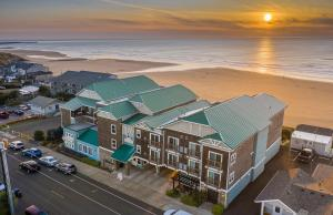 A bird's-eye view of Inn at Nye Beach