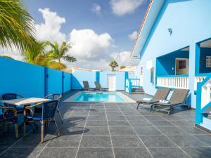A piscina localizada em Casa Bonaventura ou nos arredores