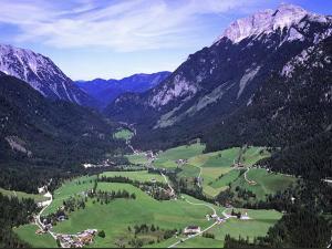 Pohľad z vtáčej perspektívy na ubytovanie Ferienwohnung Irmgard