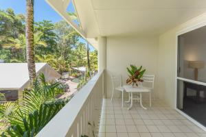 A balcony or terrace at Tropical Nites Holiday Townhouses