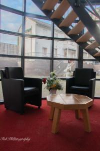 A seating area at Hotel 2000 Valkenburg