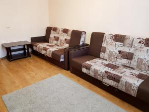A seating area at Апартаменты Кристалл на пр.Победы 30А