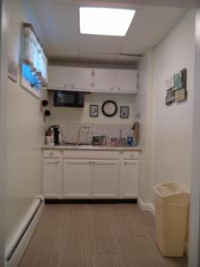 A kitchen or kitchenette at Colonial Valley Motel
