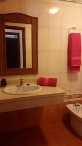 A bathroom at Apartamento AguaMarina Beauty