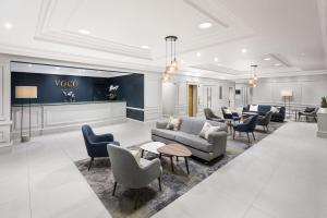 The lobby or reception area at voco St. Johns Solihull