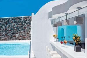 The swimming pool at or close to Canaves Oia Boutique Hotel