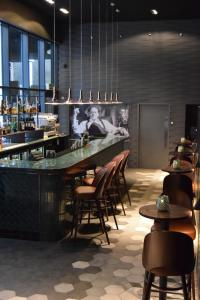 A restaurant or other place to eat at Hotel Indigo Liverpool