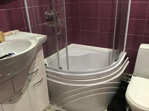 Ванная комната в Hotel Prichal