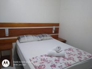 Cama ou camas em um quarto em Hostel Pousada do Tapajós