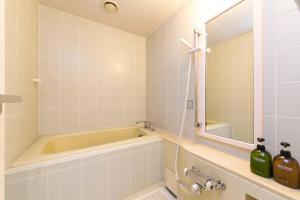 A bathroom at Nakanoshima Plaza