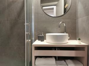 Een badkamer bij MINT Boutique Studio Apartments I