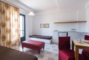 Een bed of bedden in een kamer bij Residence Villas
