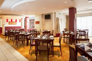 A restaurant or other place to eat at Holiday Inn Northampton