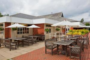 A restaurant or other place to eat at Holiday Inn Reading South M4 Jct 11