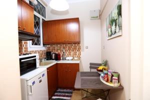 מטבח או מטבחון ב-Athens Heart Apartments