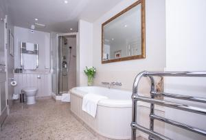 A bathroom at St Brides Spa Hotel
