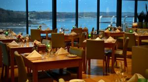 A restaurant or other place to eat at St Brides Spa Hotel