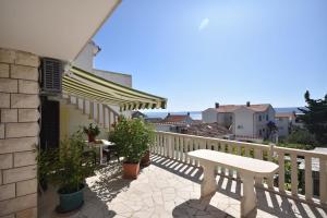 Balkón nebo terasa v ubytování Sweet Apartment in Bol