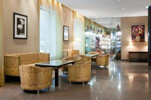 The lobby or reception area at Holiday Inn Moscow Suschevsky