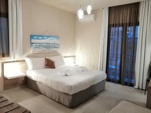 Кровать или кровати в номере B&B Il Volo