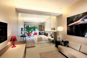 Гостиная зона в D'Hotel Singapore (SG Clean, Staycation Approved)