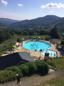A view of the pool at VVF Villages « Les Monts du Cantal » Le Grand Lioran or nearby