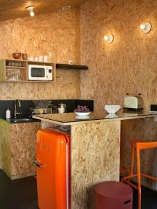 A kitchen or kitchenette at Appartement, arrière pays, proche Nice