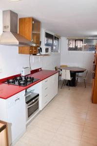 A kitchen or kitchenette at Villa Sea View Swimming Pool