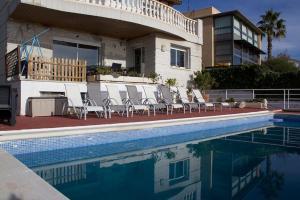 The swimming pool at or near Villa Sea View Swimming Pool